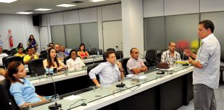 Deputado Adjuto Afonso (PP), fala sobre o empreendedorismo/Foto: Elisa Maia