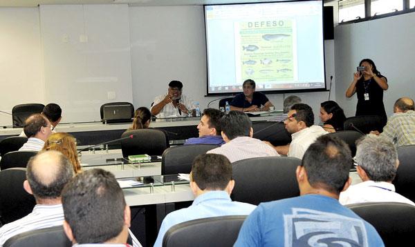 Conepa reunida na ALEAM discute a programação de defeso