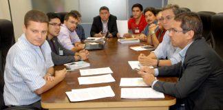 Membros da CPI da Telefonia reunidos/Foto: Rubilar Santos