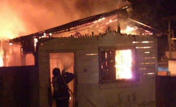 Incêndio no Lírio do Vale, hoje pela manhã/Foto: Em tempo, com colaboração do leitor