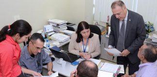 Vereador Mitoso entrega emendas à LOA/Foto: Robervaldo Rocha