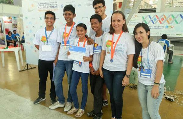 Estudantes selecionados no PCE/Am-Foto: Divulgação