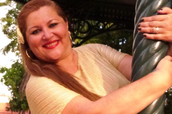 Lucilene Castro hoje no Botequim