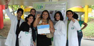Jovens cientistas classificados/Foto: Divulgação