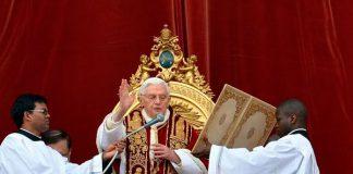 Papa pede em bênção a restituição da Paz Mundial/Foto: Vaticano