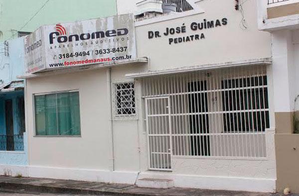 Clínica assaltada no centro de Manaus/Foto: Zeferino Neto