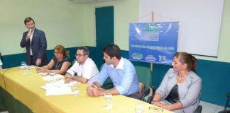 Deputado José Ricardo (PT), na UEA