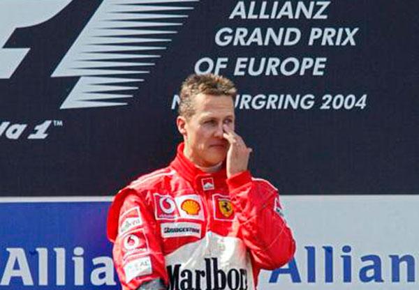 Schumacher melhora, mas seu estado ainda é grave/Foto: AFP