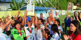 Iranduba vence é campeão amazonense de futebol feminino/Foto: Emanuel Siqueira