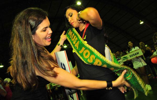 Aline Brasil, a Musa dos JOSPAM/Foto: Michael Dantas