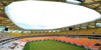 Obras da Arena chegam a 95%/Foto: alfredo Fernandes