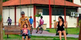 Parque dos Bilhares, o risco para quem frequenta/Foto: Michell Melo(Em tempo)
