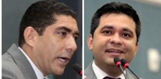 Vereadores Everadlo Farias e Alvaro Campelo/Foto: Tiago Correa