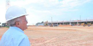 José Melo visita expansão do Francisca Mendes/Foto: Valdo Leão