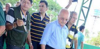 José Melo, em Novo Aripuanã/Foto: Valdo Leão