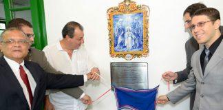 Omar Aziz inaugura Escola Superior da DPE/Foto: Alex Pazuello