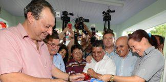 Governador Omar inaugura Hosoto: Alex Pazuello