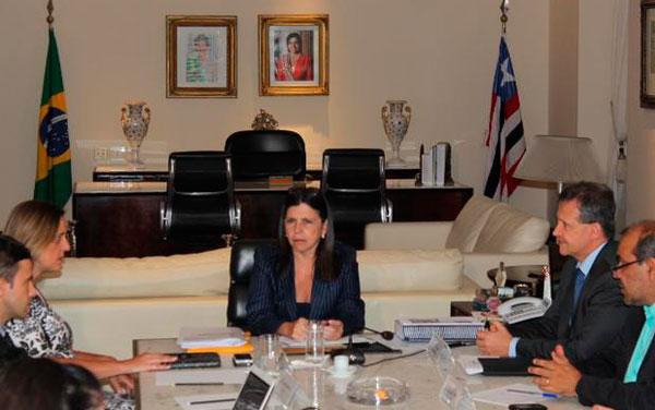 Roseana Sarney recebe apoio de secretária do Paraná/Foto: janaina Garcia