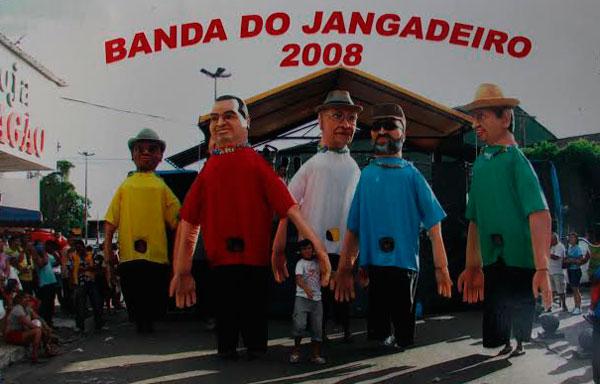 O carnaval alegre da Banda do Jangadeiro/Foto: Zeferino Netto