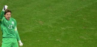 Krul entra só para os pênaltis e defende duas cobranças/Foto: AFP