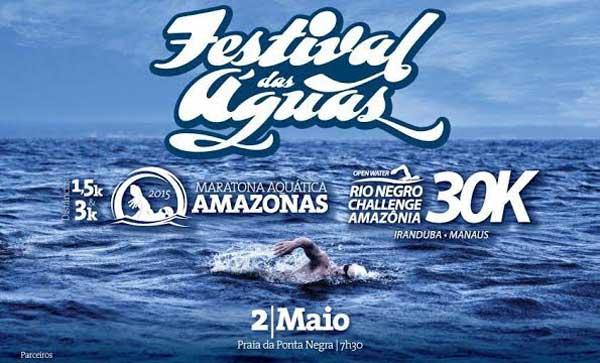Festival das Águas, na Ponta Negra