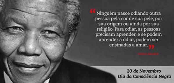 O Brasil Comemora Hoje (20-11), O Dia Da Consciência Negra