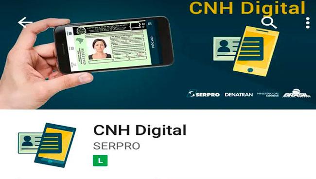 cnh digital - CNH digital já está disponível no Amazonas