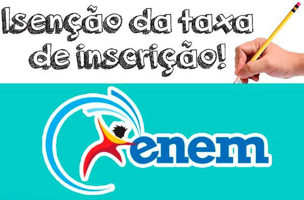 Isenção ENEM 2019