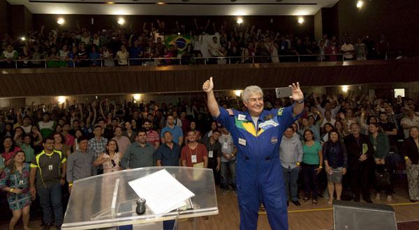 Futuro Ministro De Ciência E Tecnologia Marcos Pontes Da